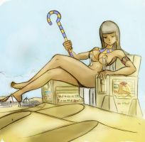 Technicolor Redux - Egyptian Goddess by Colonel-Gabbo