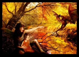 The Color of Dragons in Autumn by allison712