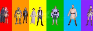 LGBTQ+ of Star Wars by The-Delta-42