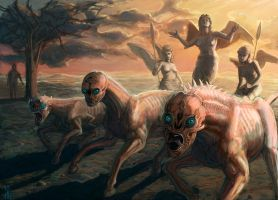 Let Slip the Dogs of War by ndhill
