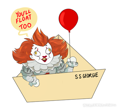 You'll Float Too by star-vader