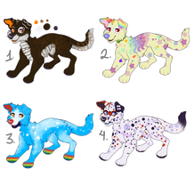 OTA Lucky Dog Adopts (OPEN) by 18Gingasoldier