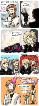 going for a RiDE with Anakin by Grandkhan