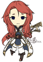 Fire Emblem: Chibi Talia by LilyBlizz
