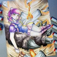 Annie from League of Legends by Tofusenshi