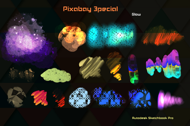 Pixabay 3pecial Brush Autodesk Sketchbook Pro PC by KarenStraight