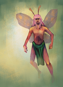 Day 2 - Butterfly by Ainaredien
