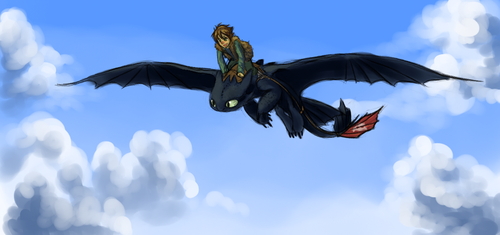 In the Clouds by Stalcry