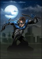 Nightwing by AIBryce