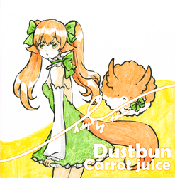 [Adoptable auction] Carrot juice bun [closed] by tshuki