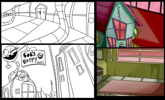 Zim backgrounds -take 1- by Freakly-Silent