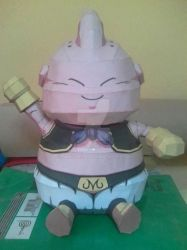 Chibi Majin Buu Papercraft by darcrash