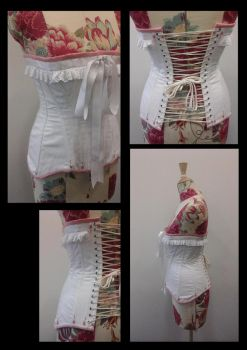 Edwardian Corset by Blackeyes1001
