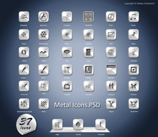 Metal Icons.Psd by Webby-B
