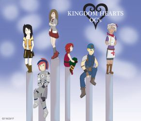 Kingdom Hearts OC Group /Gift by General5