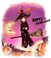 Nice bloom Halloween by ShizIdeo