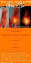 Tutorial: Fake Fire by Magpieb0nes