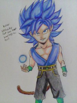 gt kid brol ssj blue by legendarybrol