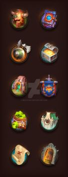 Game Icons by NestStrix
