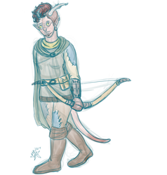Teri the Tiefling by starrypawz
