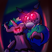 Spooky Forest Dwellers by Inika-Xeathis