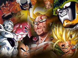 Dragon Ball Z by rk1studley