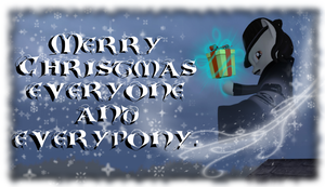 Merry Christmas for everyone/everypony by Neros1990