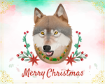 Christmas Card - Incandescence by SamCadoodles