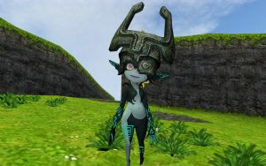 Midna In Ocarina of Time by Eli-J-Brony