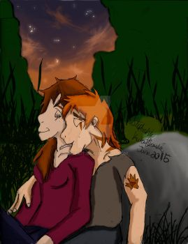 Fireheart and Spottedleaf~You're Still the One by CodyKit