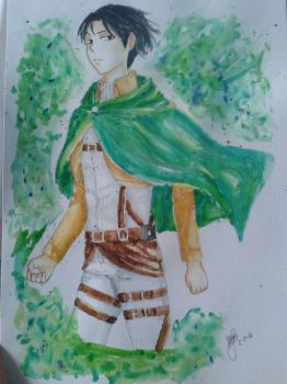 Levi Ackerman by Maanster