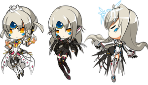 [Elsword] Queen's Evolution by venom00