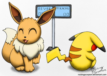Eevee I Choose You! by RockingScorpion