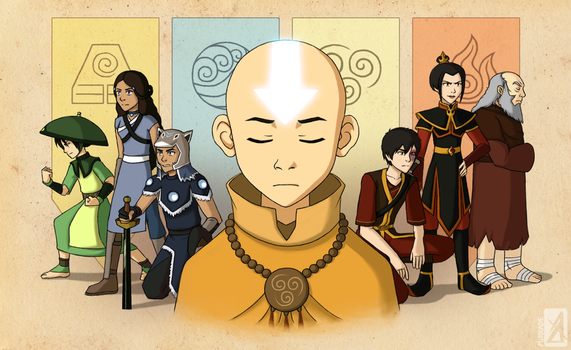 The Last Airbender by Mirrade