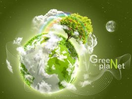 Earth Day. Green Planet. by AlexandraF