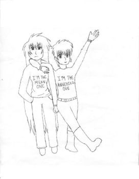 Violate And Regulus' sweaters by Purestrongpoem