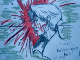 Bloody detective ( the American Reichenbach Fall) by Andailite47
