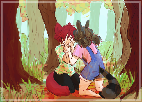 forest friends by Nerfusia