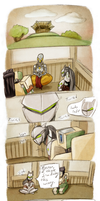 Genji has Trouble Meditating [comic] by Hot-Gothics