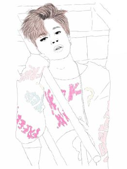 Park Jimin - Spring Day by X-BTS-X