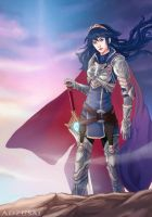 Great Lord Lucina by AngelofDeathz