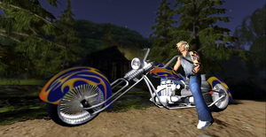 Me And my Blue Chopper by DJ7493