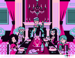 Dangan Academy 02: Last Supper by Wiz-Dan