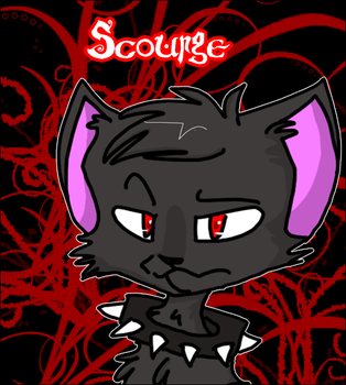 Warriors: Scourge by k-i-t-t-e-h
