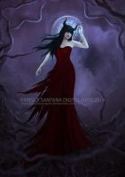 Temptress of the Hollow by MirellaSantana