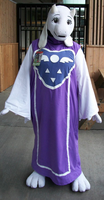 Toriel Cosplay by possim