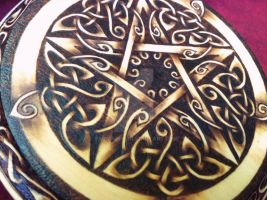 Elven Pentacle by parizadhe