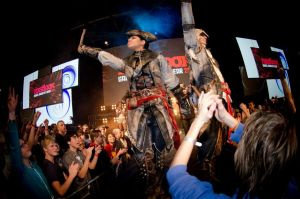 Connor and Aveline at Firstlook 2012, Utrecht by RBF-productions-NL