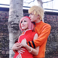 NaruSaku Cosplay Boruto version by NSBrem