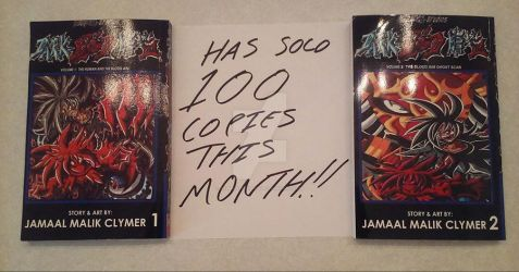 Dark-Blood has sold 100 copies this month! by d13mon-studios